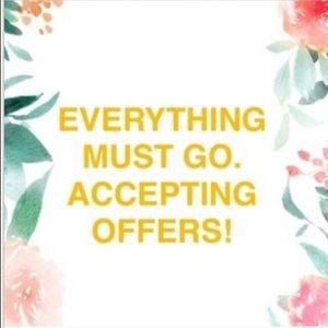 🛍Sale 🛍 EVERYTHING MUST GO!! Offers accepted🛍